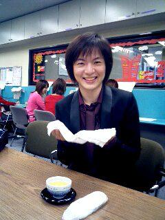 竹島宏、感激です