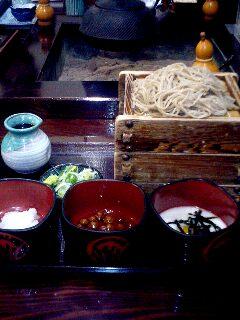 蓼科の蕎麦