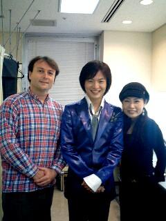 ヘアメイクのたかこさんとご主人のロドリゴさんと竹島宏
