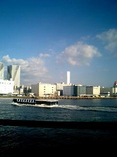 Tokyo Vingtetun Cruiseからの風景