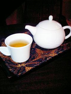 本日頂いたお茶