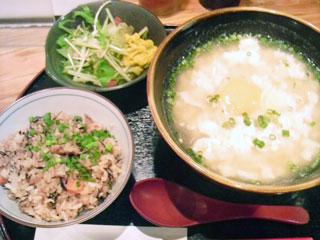ゆし豆腐定食