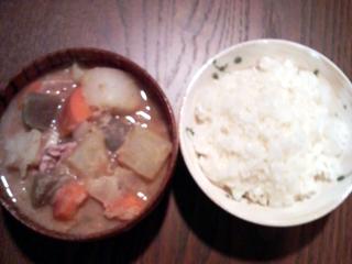 竹島特製豚汁