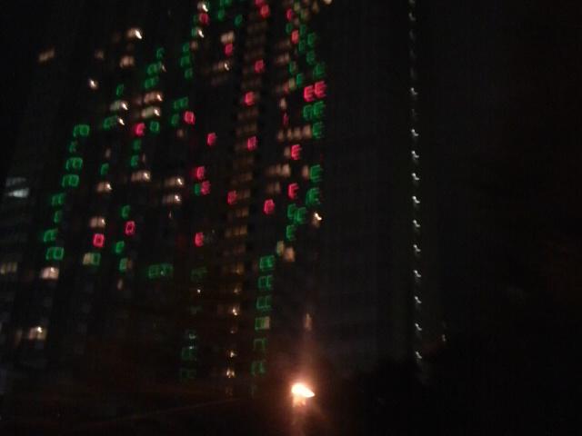 ニューオータニのクリスマスツリー