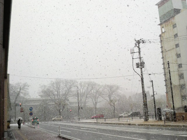 秋田の雪景色そのに
