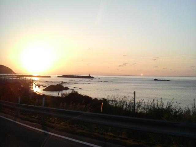 高知県の朝日