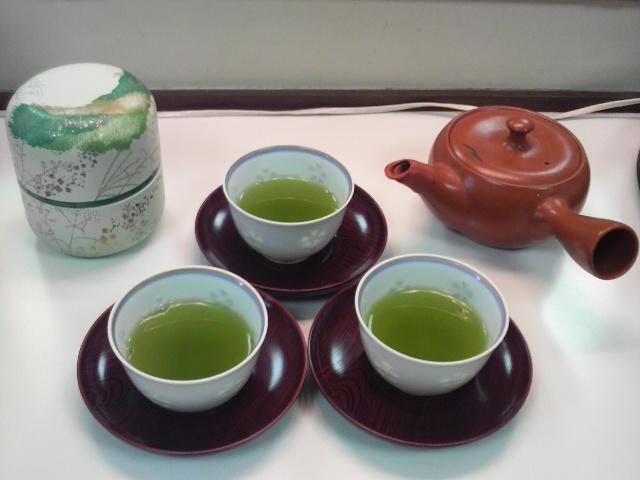 目覚めの一杯 緑茶