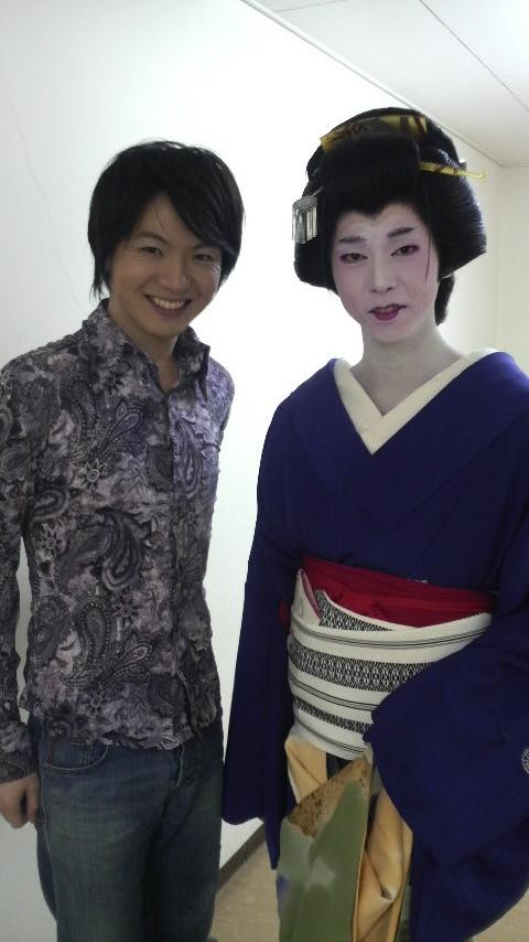 佳卓舞踊会の家元・佳卓さんアンド竹島宏