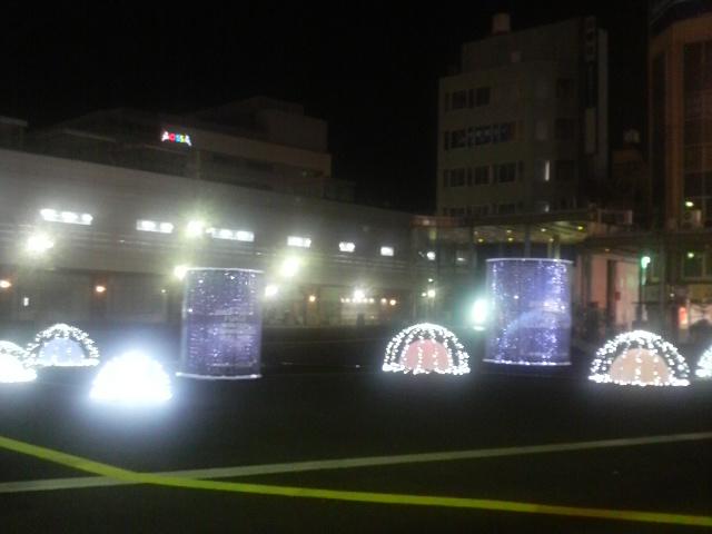 福井駅前イルミネーション