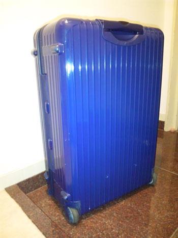 竹島宏のスーツケース