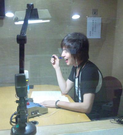 ラジオ日本収録