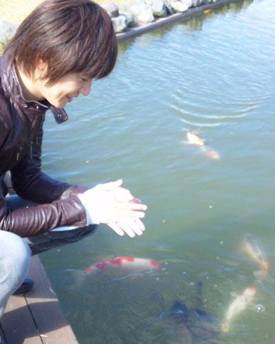 日本平ホテルの庭園から