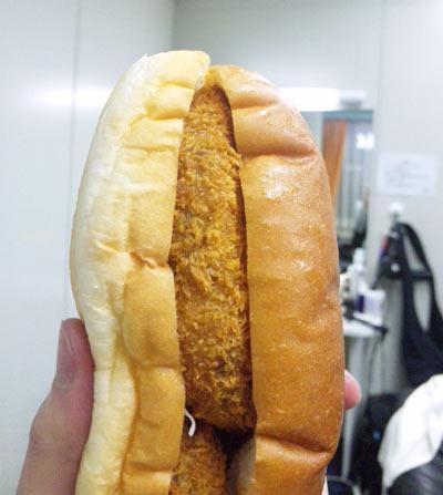 幸せのコロッケパン