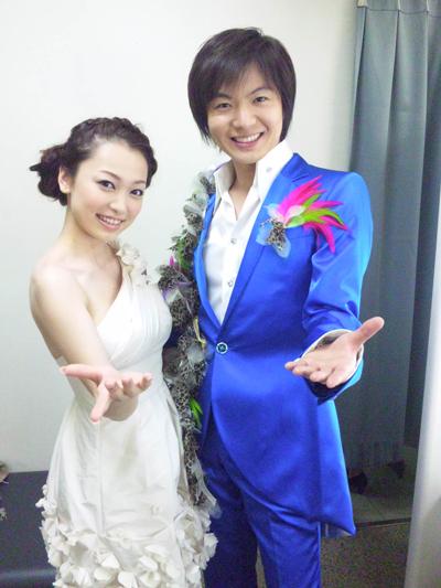 西田あいさんと竹島宏