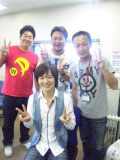 沢田幸二さん、BLUE RIVERさんと