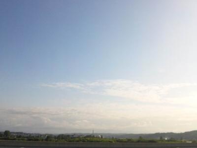 北海道の夏空