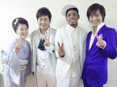 川中美幸さん、パク・ヒョンビンさん、ジェロさん、竹島宏