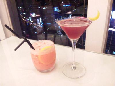 オリジナルカクテル【紫の月】&【Love Life】