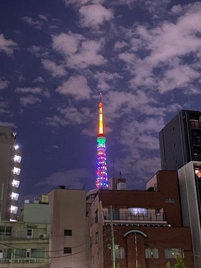 東京タワーfromテイチク
