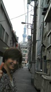東京スカイツリーと竹島宏